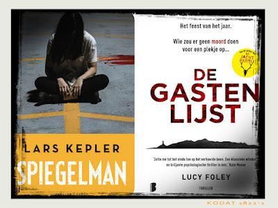 Te lezen Spiegelman van Lars Kepler en De gastenlijst van Lucy Foley