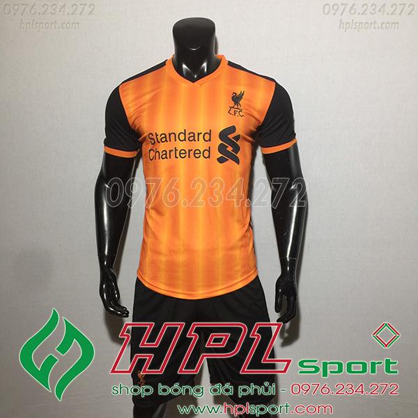 Áo bóng đá câu lạc bộ Liverpool cam 2020