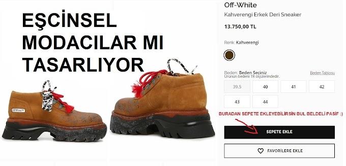 Pasif Gay Ayakkabıları 13750 TL - Eşcinsel modacılarmı yapıyor?