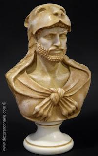 Büste des Herkules mit Löwenhaut.