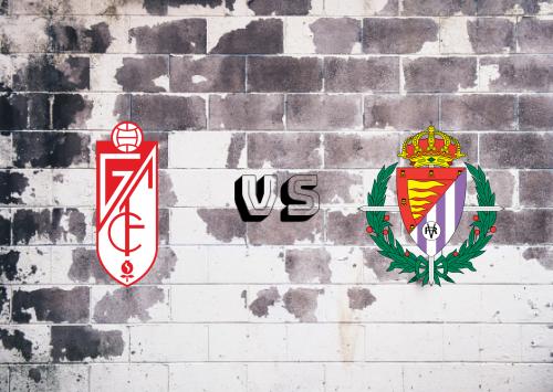 Granada vs Real Valladolid  Resumen