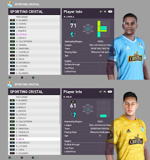PES 2021 Faces Nilson Loyola & Renato Solis by BlackBird