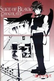 Slice of Black Chocolate