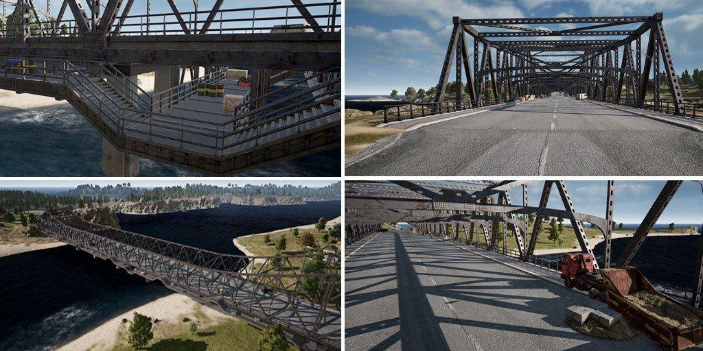 New PUBG Military Bridge