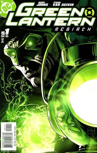 Geoff Johns relanzó a Hal Jordan y los Green Lanterns en su comienzo de etapa