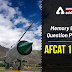 Memory Based Question Paper of AFCAT 1 2020