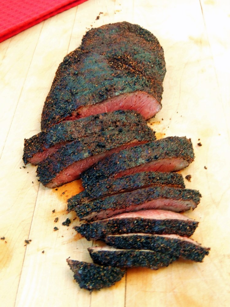 Spiced Coffee Rubbed Steak  - Is a quick and easy rub that gives a little oomph to your everyday BBQ. From www.bobbiskozykitchen.com
