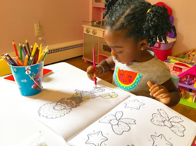Coloring Book-Stocking Stuffer Ideas for Toddlers