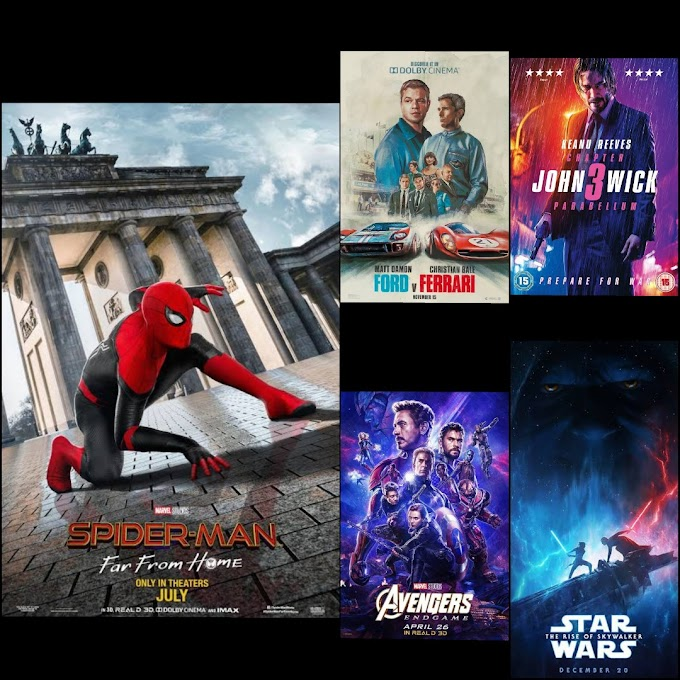Top 10 Action Movies of 2019.