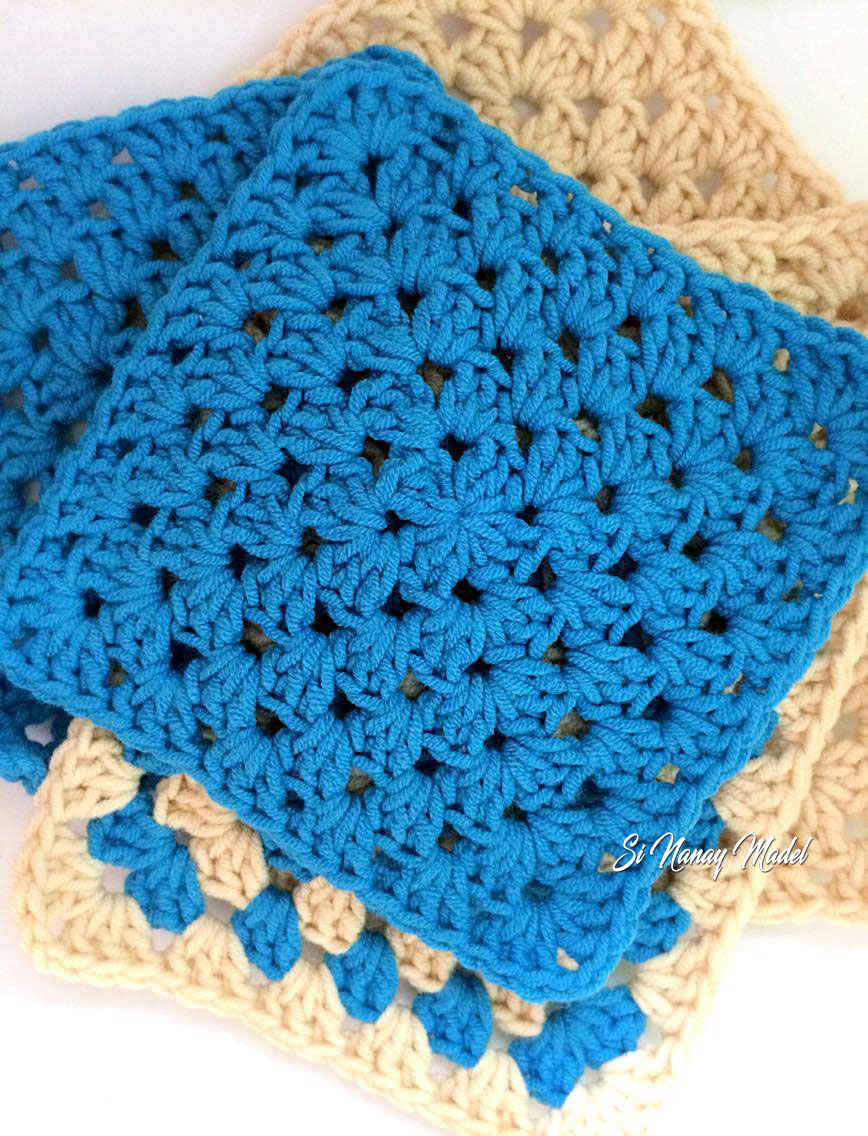 Si nanay madel basic granny square tutorial and i decided to make a tutorial on the most basic crochet square the granny bankloansurffo Image collections