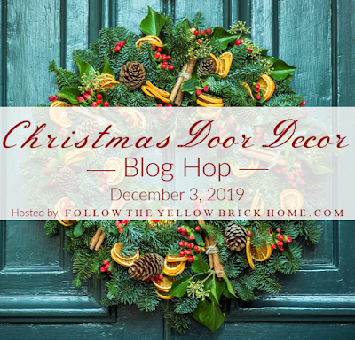 Christmas wreaths and door decor