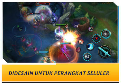 Spek minimum main  League of Legends Wild Rift Mobile Android