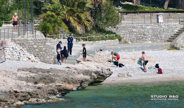 Πρόστιμα από έφοδο του Λιμενικού σε παραλίες της Αργολίδας
