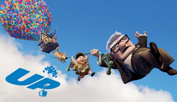 UP (2009) Fixar Movie Video Games Wallpapers, film animasi terbaru terbaik terpopuler sepanjang sejarah myanimelist