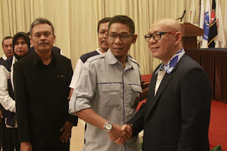 Hengky Jadi Ketua KONI Kab Cirebon Secara Aklamasi