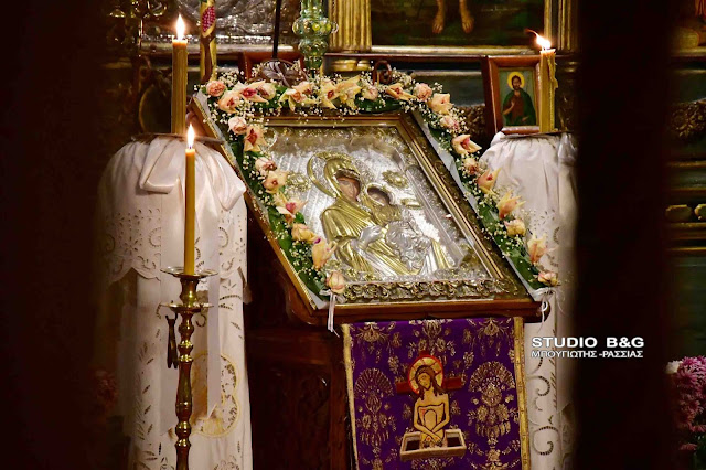 Σε κλίμα κατάνυξης και με κλειστές εκκλησίες η Δ΄στάση των χαιρετισμών στο Ναύπλιο (βίντεο)