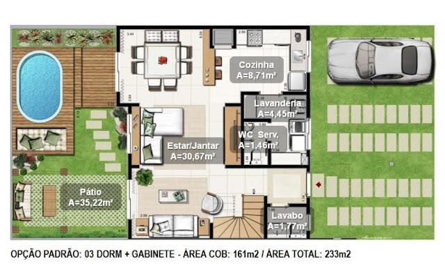 Average House plan