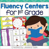 Fluency Activities to help primary students- readers theater and centers for fluency practice