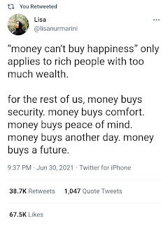 Bahagia Perlu Uang