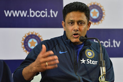 Anil kumble in USA Very Happy at the Start T20 International Cricket between India and West Indies in Florida