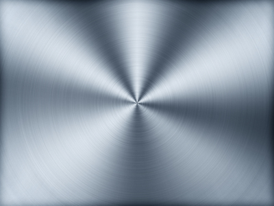 Silver stainless steel metal background