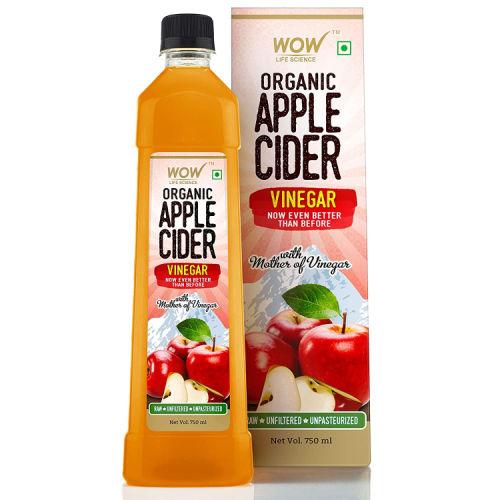 Wow Organic Raw Apple Cider Vinegar