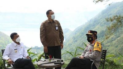 Dukung Lokasi Wisata, Irjen Panca Putra Simanjuntak 'Warning' Kapolres di Kawasan Danau Toba