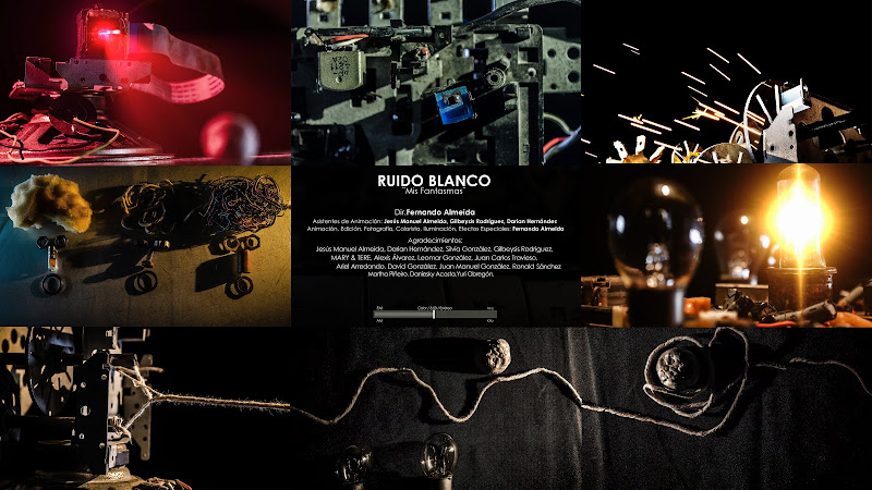 Ruido Blanco - ¨Mis Fantasmas¨ - Videoclip - Director: Fernando Almeida. Portal Del Vídeo Clip Cubano
