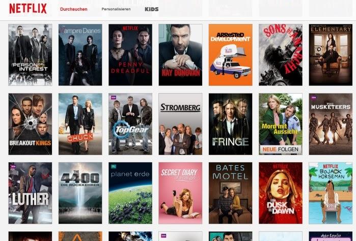 Netflix Serien Liste