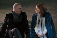 Jessica Chastain and Kevin Costner in Molly's Game