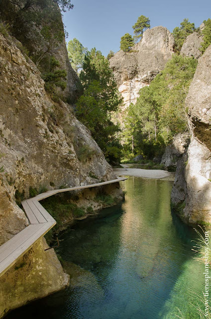 Comarca del Matarraña Teruel senderismo ruta parrizal escapada viaje