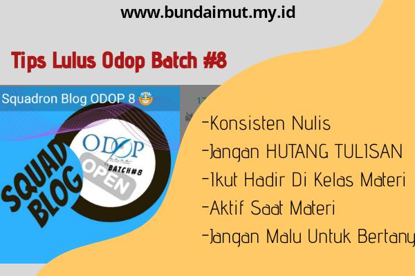 Tips lulus komunitas Odop