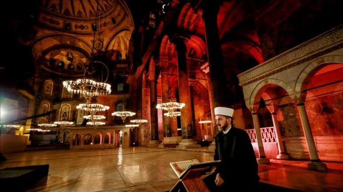 Pendeta Turki Ini Terkejut, 2 Juli Hagia Sophia akan Diputuskan Jadi Masjid?