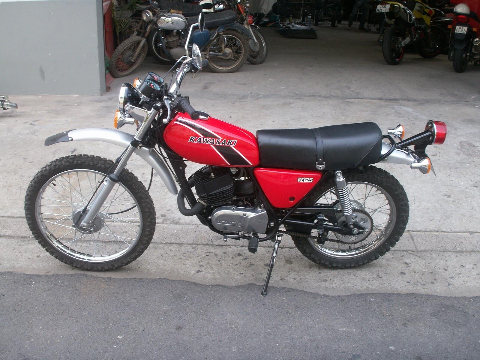 motosport oficina especializada em motos recupera o kawasaki ke 125 1976. Black Bedroom Furniture Sets. Home Design Ideas