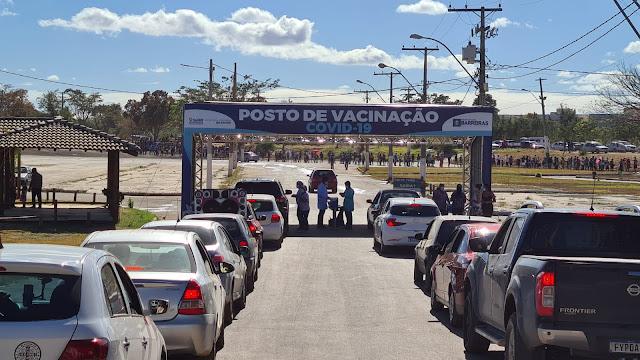 Vacinação contra covid-19 alcança jovens de 21 anos acima, em Barreiras