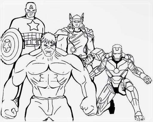 schöne dinge 15 avengers malvorlagen