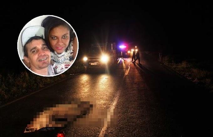 Casal morre em acidente envolvendo carro e moto no município de Conceição do Coité