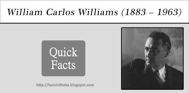 William Carlos Williams Quick Facts