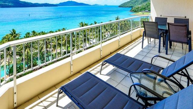 балкон на курорте