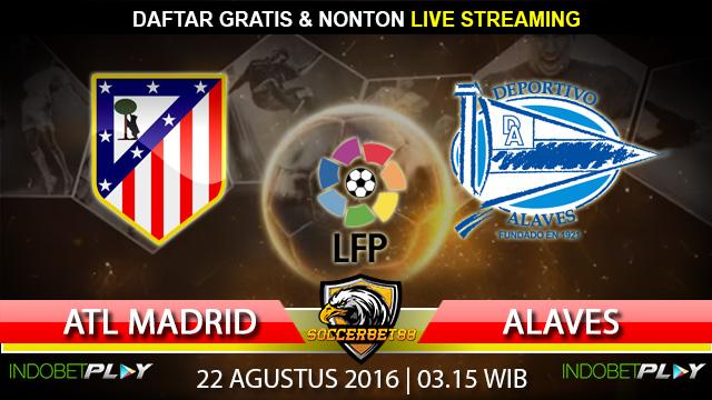 Prediksi Atletico Madrid vs Alaves 22 Agustus 2016 (Liga Spanyol)