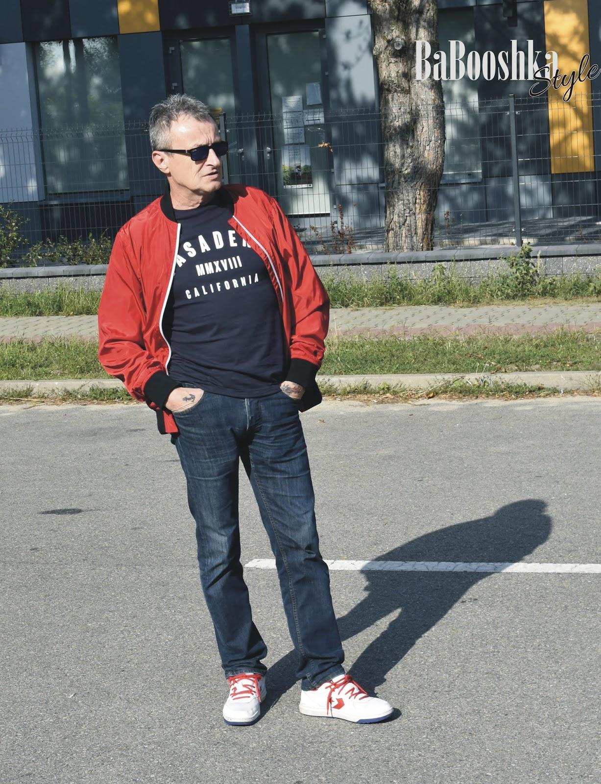 blogfashion, moda męska, streetstyle man, Babooshkastyle, polecam, Bonprix, Lee, Convers, sport style dla meżczyzn, stylistka