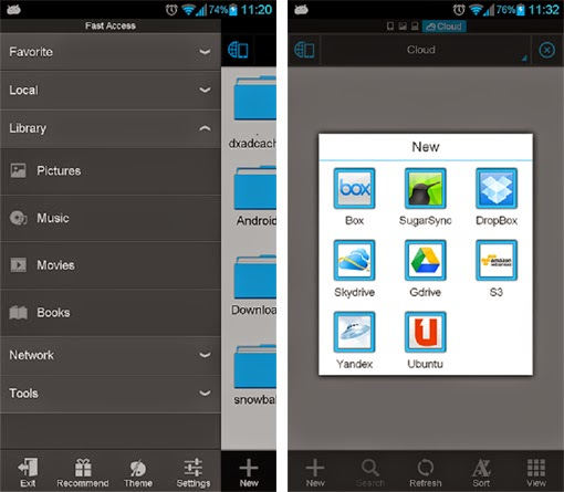 Es File Explorer. 5 Aplikasi File Manager Terbaik
