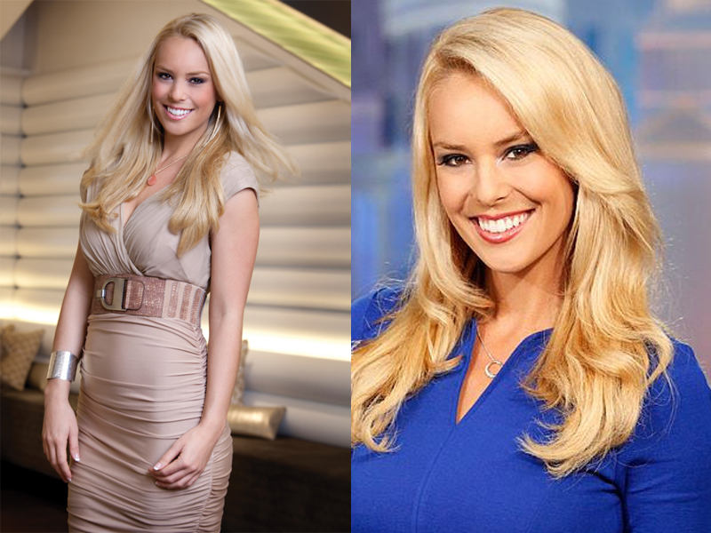 Presenter Cantik Britt McHenry Blonde news anchor
