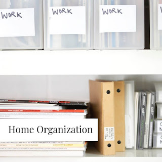 Homemaking Blog| Organizing