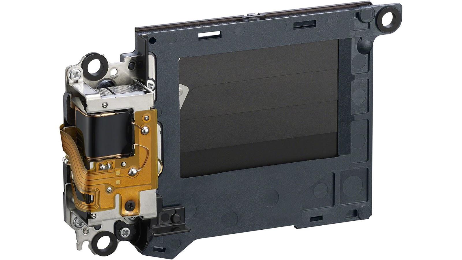 Механический затвор камеры Sony A7C