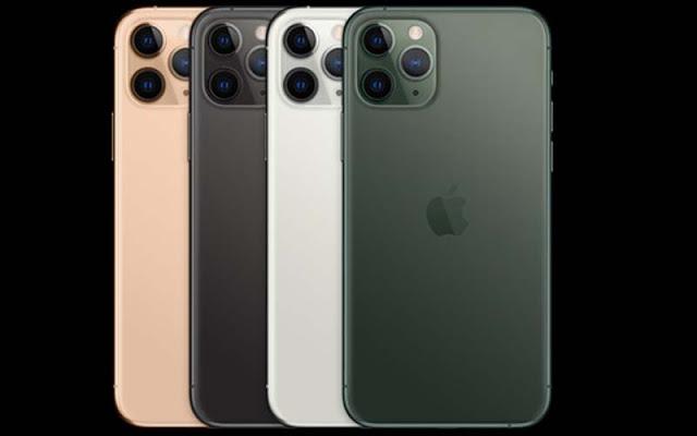 Desain iPhone 11 Pro