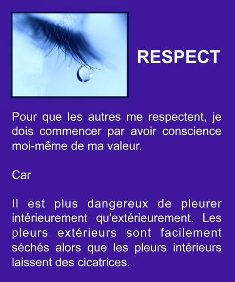 citations sur le respect