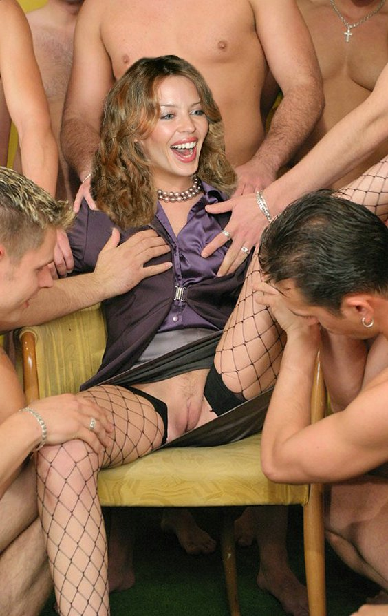 image Busty lesbian madame and big tit slaves in orgy