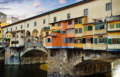 Foto Nicola Giordano do Pixabay - Matéria Ponte Vecchio - BLOG LUGARES DE MEMÓRIA