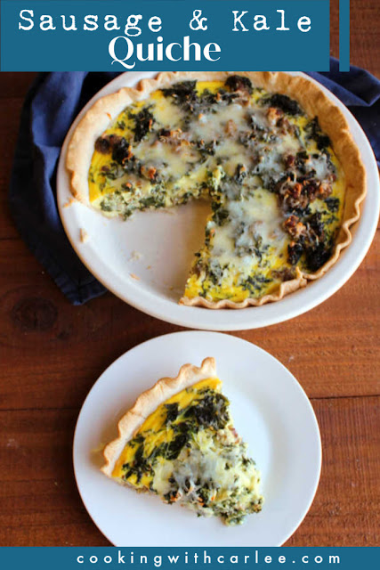 Whipping up a sausage and kale quiche is easy to do, plus it tastes amazing. In fact, make 2 and save 1 for later. I'll tell you how!